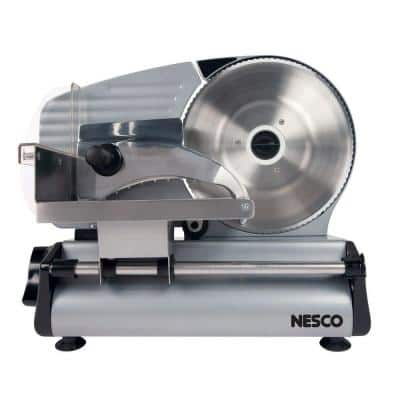 180 W Silver Electric Food Slicer