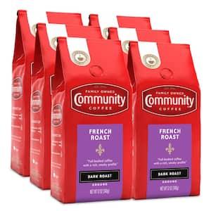 12 oz. French Roast Extra Dark Roast Premium Ground Coffee (6-Pack)