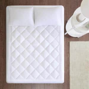 Harmony 18 in. Twin Polyester Mattress Pad