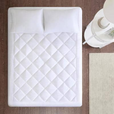 Harmony 18 in. Full Polyester Mattress Pad