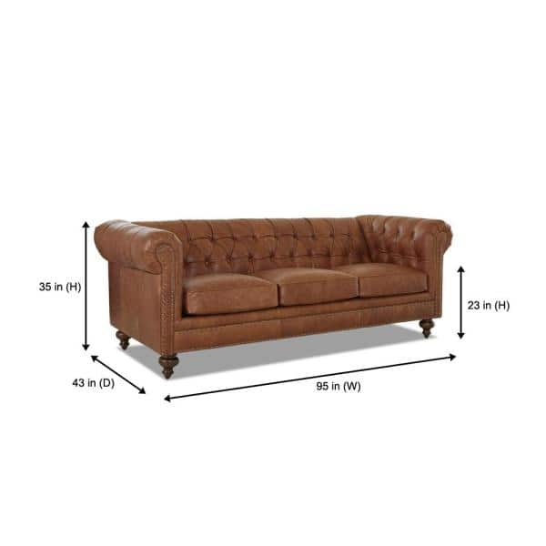 Seater Chesterfield Sofa With Removable, Paint For Leather Furniture Home Depot