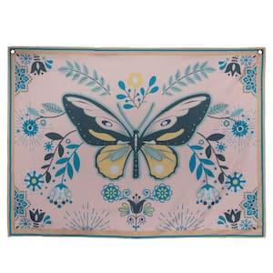 Multi Beautiful Butterfly Wall Tapestry