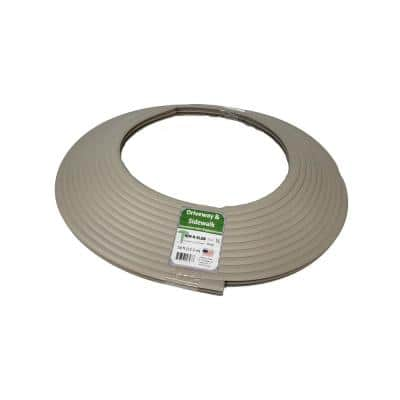 1/2 in. x 50 ft. Concrete Expansion Joint Replacement in Grey