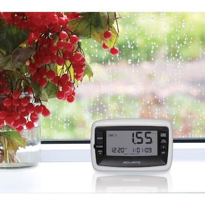 Digital Rain Gauge with Wireless Self-Emptying Rain Collector
