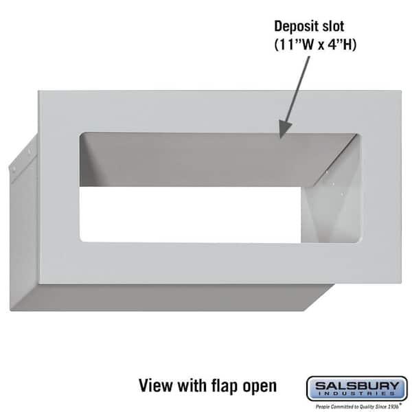 SALSBURY INDUSTRIES 2255BRZ Mail Drop Door,Bronze