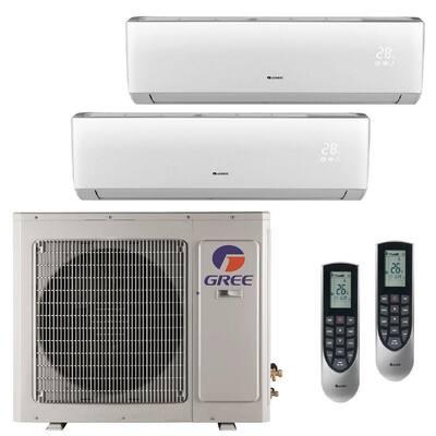 Multi-21 Zone 26000 BTU Ductless Mini Split Air Conditioner with Heat, Inverter and Remote - 230-Volt