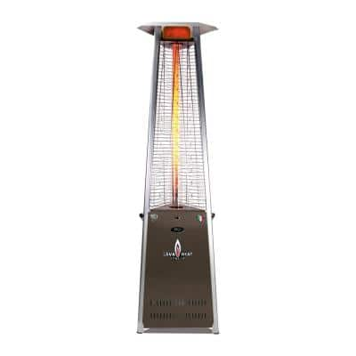 2G A-Line 66,000 BTU 8 ft. Blackened Bronze Propane Patio Heater