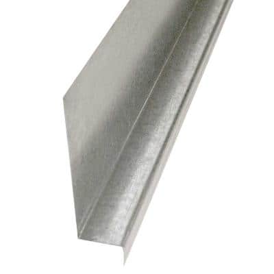 5/8 in. x 10 ft. Galvanized Steel Z-Flashing