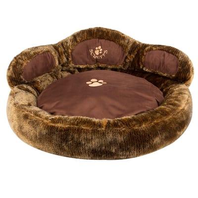 Large Brown Cub Bear Dog Bed