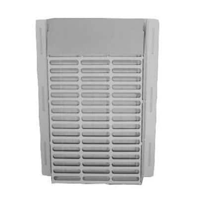 13.75 in. x 12.75 in. x 2.75 in. Powder Coated Galvanized Steel Pest Control Exterior Vent Cover in White