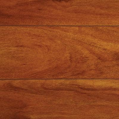 High Gloss Jatoba 8 mm Thick x 5-5/8 in. Wide x 47-3/4 in. Length Laminate Flooring (746 sq. ft. / pallet)