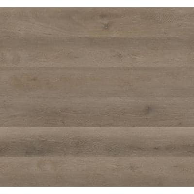 7.13 in. W x 48.03 in. L Richton Oak Rigid Core Click Lock Luxury Vinyl Tile Flooring (23.77 sq. ft./case)