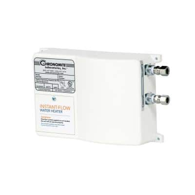 Instant-Flow Micro-Low Flow .35 GPM Point of Use Electric Tankless Flow Water Heater, 20 Amp, 208-Volt, 4160-Watt, 110°F