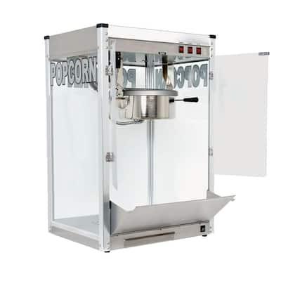 Professional 12 oz. Stainless Steel Countertop Popcorn Machine