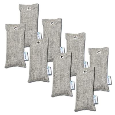 Air Purifying Bamboo Charcoal Bag, 2.6 oz (8-Pack)