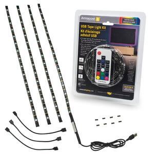 RibbonFlex Home 6.5 ft. USB LED Tape Light Kit