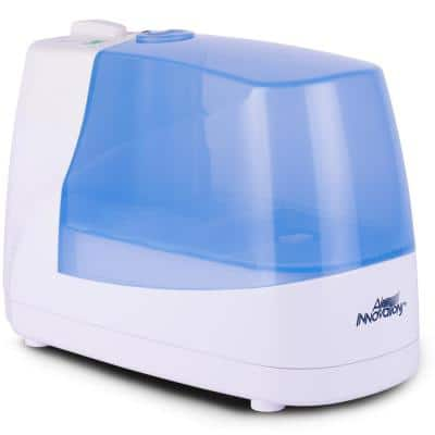 Cool Mist Ultrasonic Humidifier with Night Light and Ionizer