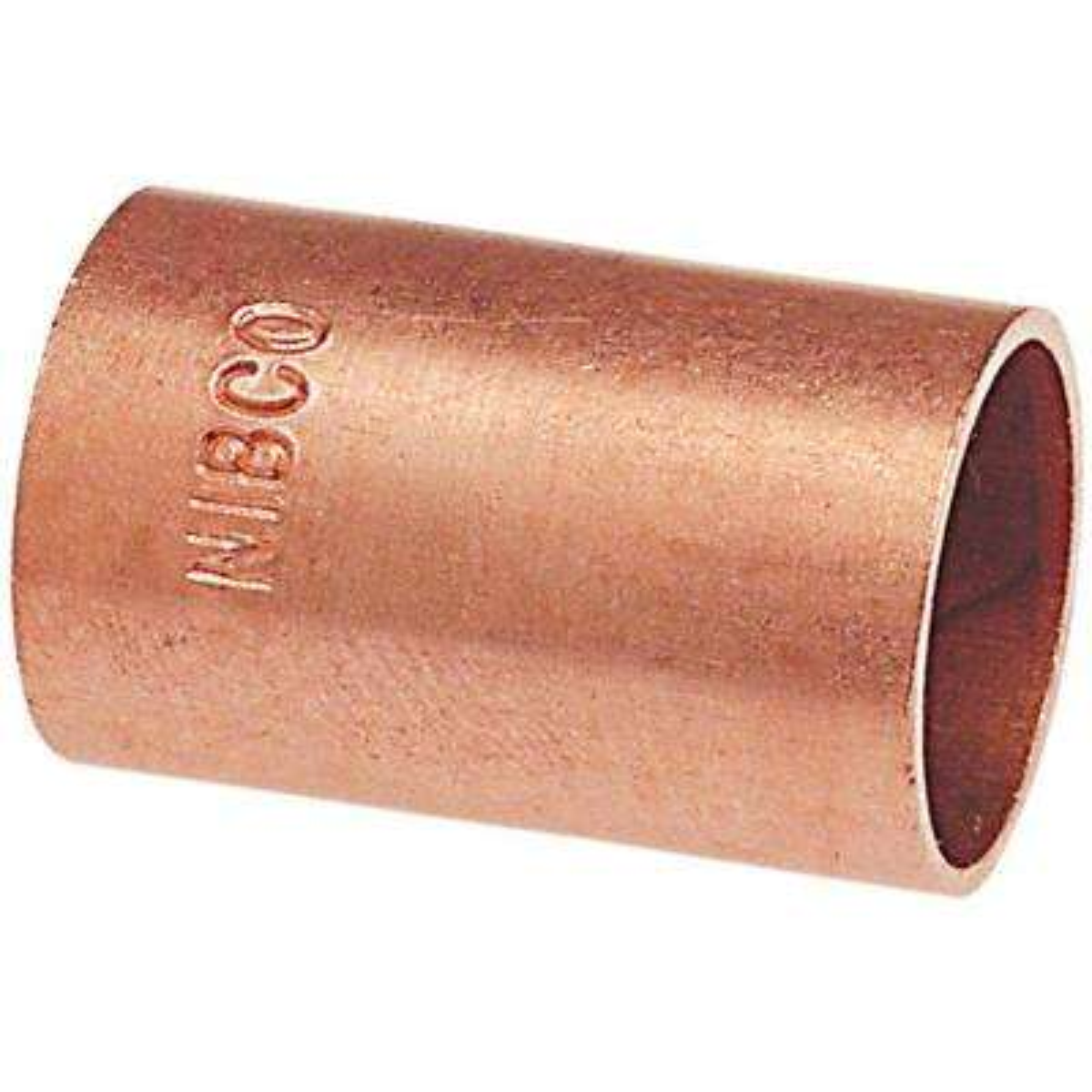 3/4 in. Copper Pressure Slip Coupling Fitting