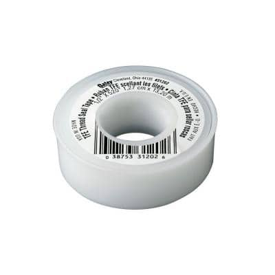 1/2 in. x 520 in. Thread Sealing PTFE Plumber's Tape