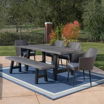 Patio Dining Furniture, Smart Living 6 Piece Patio Set