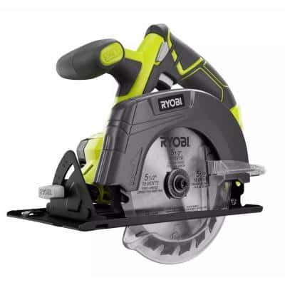 ONE+ 18V Cordless 5.5 in. Circular Saw (Tool Only)