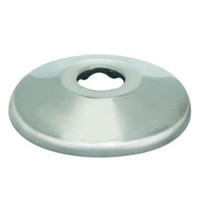 1/2 in. Nominal (5/8 in. O.D.) Shallow Escutcheon for Copper Pipe in Chrome