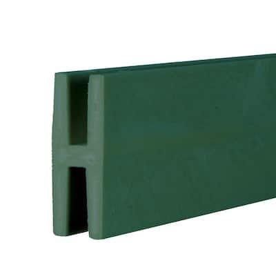 8 ft. Woodland Green Vinyl Lattice Divider