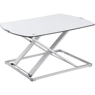 White Ergonomic Ultra-Slim Standing Desk