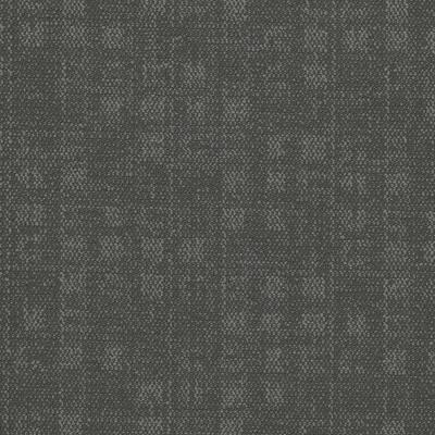 Crafter Gray 24 in. x 24 in. Carpet Tiles (8 syds. case/carton - 18 Tiles case/carton)