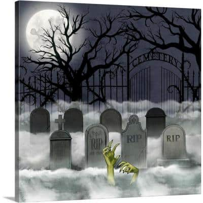 24 in. x 24 in. Spooky Night II by Grace Popp Canvas Wall Art