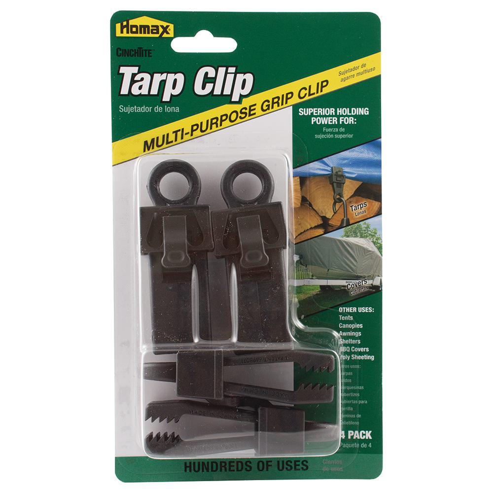 CinchTite Multi Purpose Tarp Clip (4-Pack)