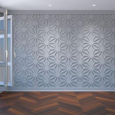 """3/8"""" x 23-3/8"""" x 27"""" Hampton Decorative Fretwork Wall Panels in Architectural Grade PVC"""