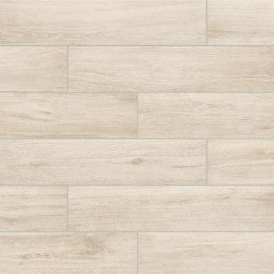 Chalet Natural Light Beige 8 in. x 36 in. Matte Porcelain Floor and Wall Tile (139.86 sq. ft /Pack)