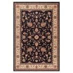 Jewel Marash Black 7 ft. x 9 ft. Area Rug