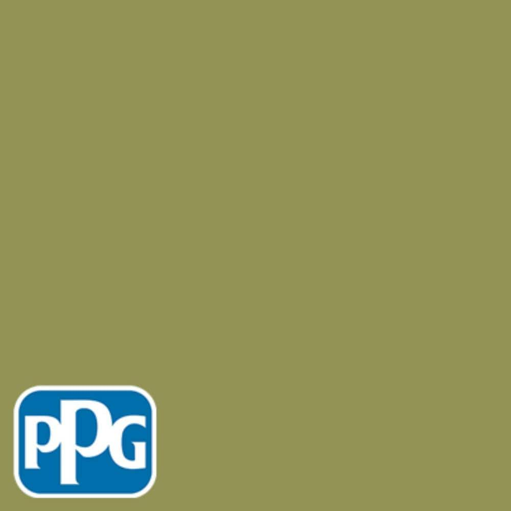 Ppg Timeless 1 Gal Hdppgg21 Safari Green Eggshell Interior One Coat Paint With Primer Hdppgg21 01e The Home Depot