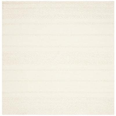 Natura Natural 8 ft. x 8 ft. Square Area Rug