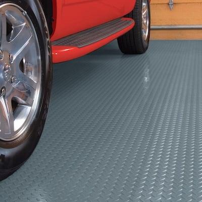 7.5 ft. x 17 ft. Diamond Grey Universal Flooring