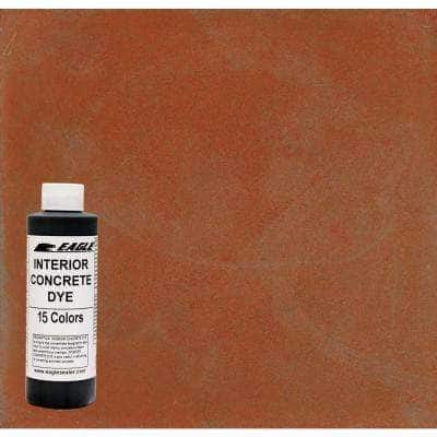 1 gal. Sweet Potato Interior Concrete Dye Stain Makes with Water from 8 oz. Concentrate