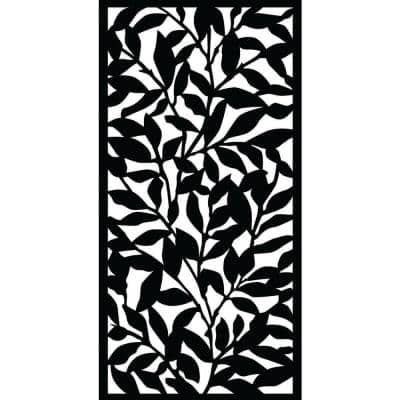 0.3 in. x 71 in. x 2.95 ft. Tangle Decorative Screen Panel with Slimline Frame