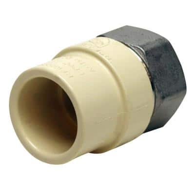 3/4 in. x 3/4 in. CPVC CTS Slip Stainless Steel FPT Adapter