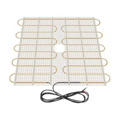 2.5 ft. x 32 in. 120-Volt Radiant Floor Heating Mat (Covers 6.7 sq. ft.)
