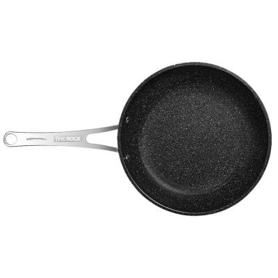 The Rock 10 in. Stainless Steel Nonstick Frying Pan
