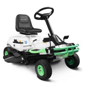 E-Rider 30in. 72V Lithium-Ion Battery Electric Rear Engine Riding Mower
