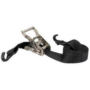1000 lbs. Stainless Steel 15 ft. x 1.5 in. Ratchet Tie Down