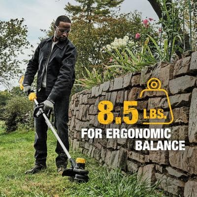 13 in. 20V Max Lithium-Ion Cordless String Trimmer with (1) 4.0Ah Battery and Charger Included