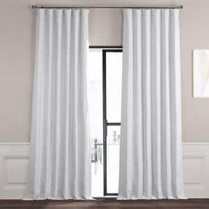 Chalk Off White Rod Pocket Blackout Curtain - 50 in. W x 96 in. L