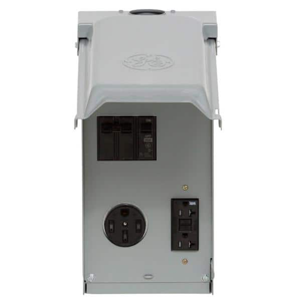 RV Panel w// 50Amp 20 Amp GFCI Receptacle Power Distribution Recreational Vehicle