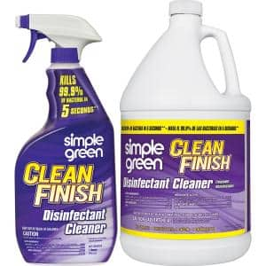 1 Gal. Clean Finish Disinfectant Cleaner with 32 oz. Spray Bottle