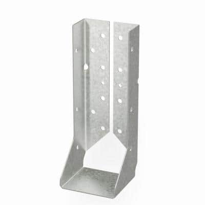 HUCQ Heavy Face-Mount Concealed-Flange Joist Hanger for Double 2x10 Nominal Lumber with Screws
