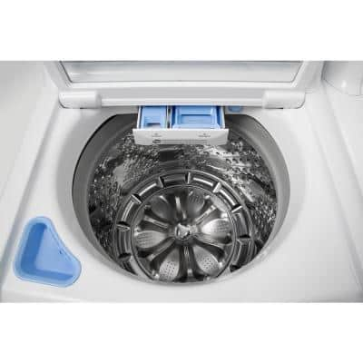 5.0 cu. ft. High Efficiency Mega Capacity Smart Top Load Washer with TurboWash3D and Wi-Fi Enabled in White, ENERGY STAR